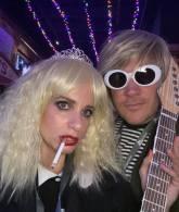 Courtney Love and Kurk Cobain